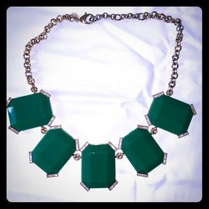 Banana Republic Emerald Green Necklace